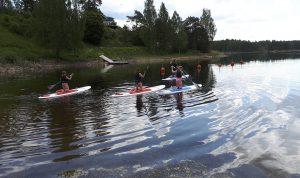 SUP, Töcksfors camping & fritid, stand up paddle, stå upp-paddel, vattensport